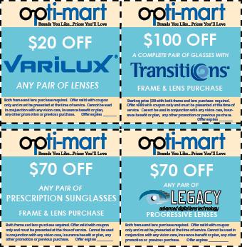 Optimart Eyeglass Coupons
